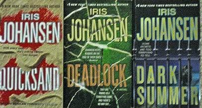 THREE (3) Iris Johansen Books - Dark Summer; Quicksand; Deadlock