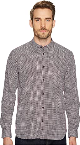 Ted Baker - Kolma Long Sleeve Core Print Shirt