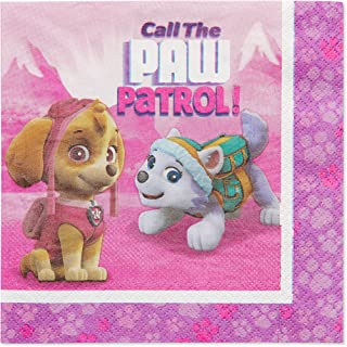 Best American Greetings Paw Patrol Paper Lunch Napkins for Kids (48-Count) Review