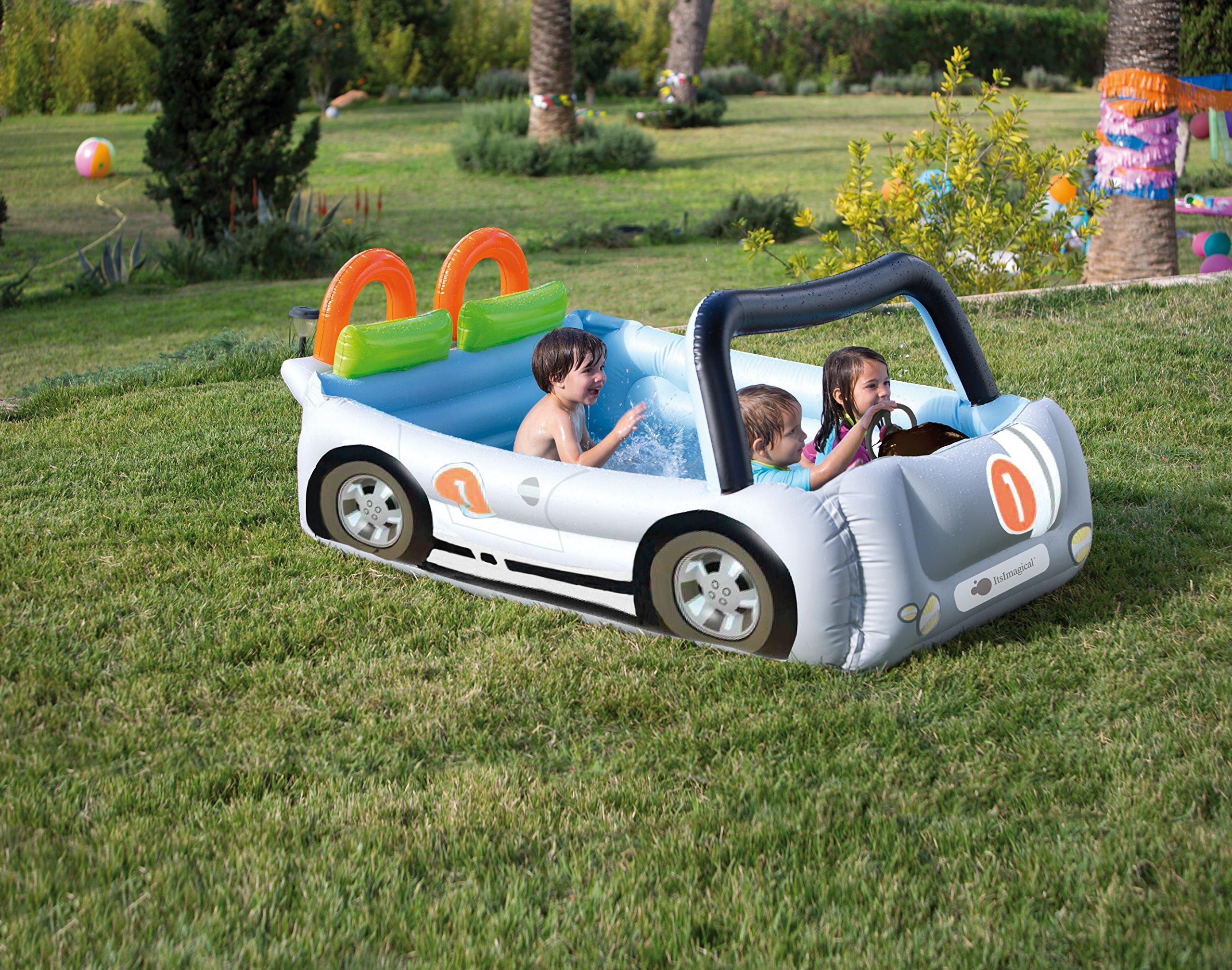 itsImagical - H2O Supercar, Piscina de Juegos con Forma de Coche ...