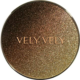 VELY VELY Caviar Marble Pact + REFILL SET (SPF 50+ PA+++) #23 NATURAL - Essence type, Hyaluronic acid for Dewy Flawless skin