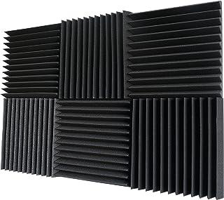 6 Pack- Acoustic Panels Studio Foam Wedges 2 X 12 X 12