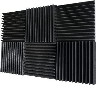Foamily 6 Pack- Acoustic Panels Studio Foam Wedges 2