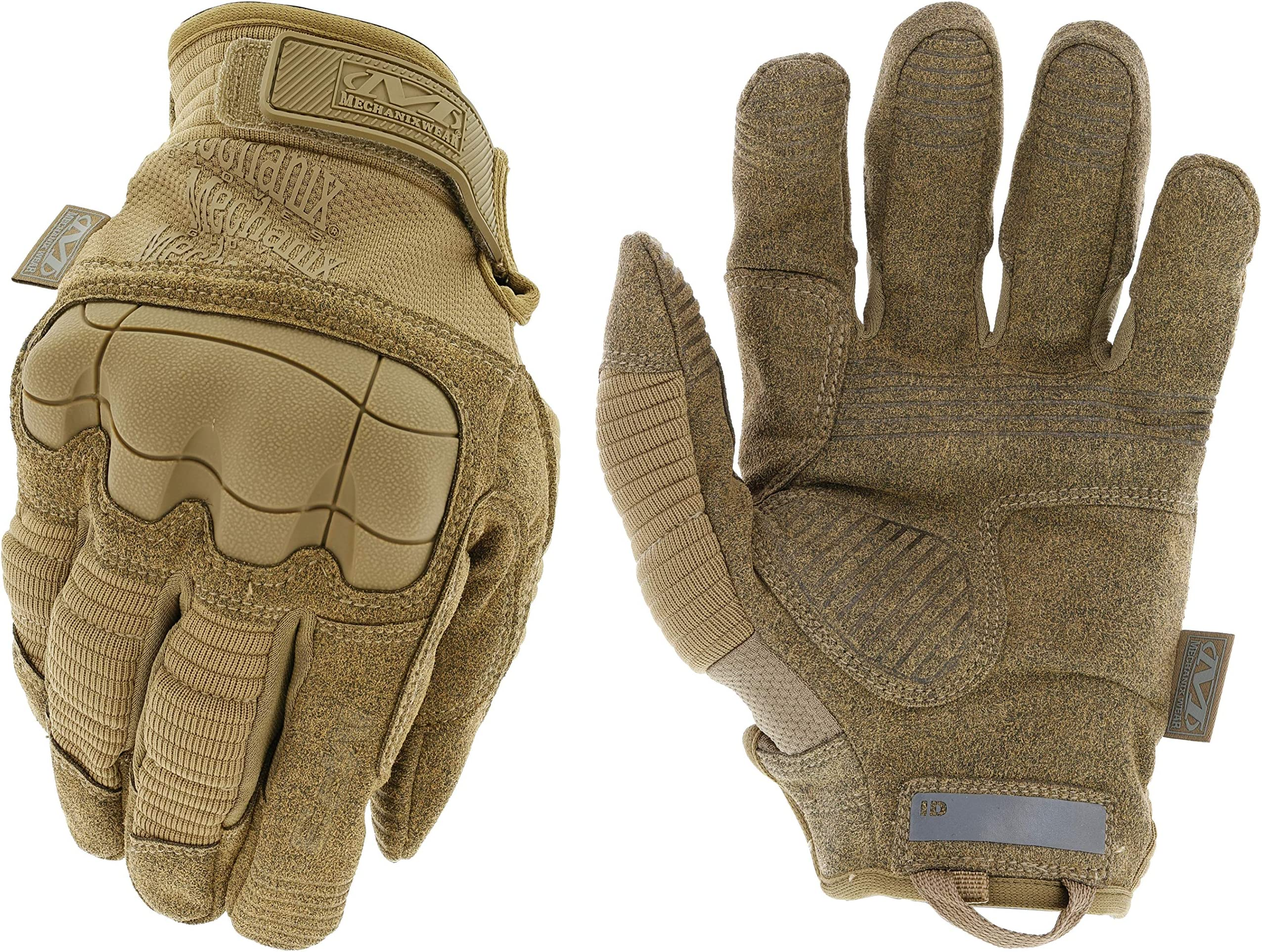 Mechanix Wear MP3-72-009 : M-Pact Coyote Tactical Work Gloves (Medium, Brown)