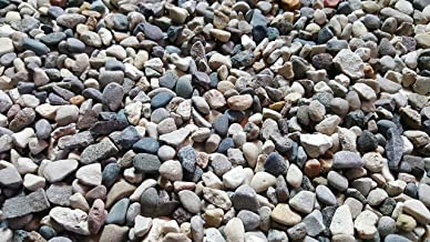 T&T 5 lbs. of Small River Pebbles (Triple Washed) from Northern Michigan Succulents, Cactus or Bonsai, Fairy Gardens, Terrariums | SAFE & Non-Toxic