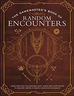 The Gamemaster's Book of Random Encounters: 600+ customizable maps, tables and story hooks to create adventures on demand