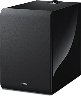 Yamaha MusicCast SUB 100 Wireless Subwoofer, Compatible with Alexa - Black