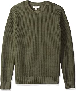 Amazon Brand - Goodthreads Men's Soft Cotton Rib Stitch...