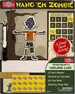 Hang'em Zombie Wooden Magnetic Game Board