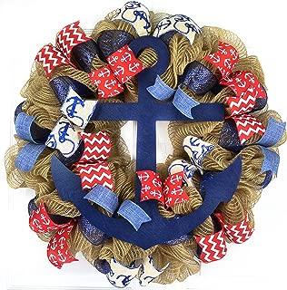 anchor door wreath