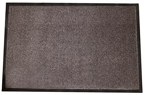 Durable Corporation 654s23bn Wipe N Walk Vinyl Backed Indoor Carpet Entrance Mat 2 X 3 Brown Industrial Scientific