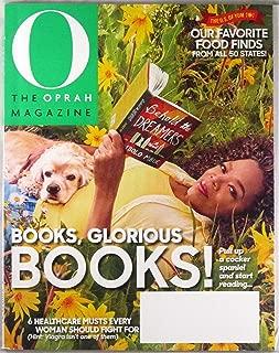 O Oprah Magazine July 2017 | Books, Glorious Books!