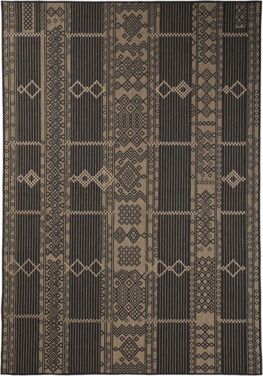 Our shop OFFers the best service All stores are sold Furnish My Place Outdoor Collection Geometric Pattern 7 Rug - ft