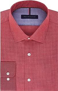 Men's Dress Shirt Slim Fit Non Iron Solid