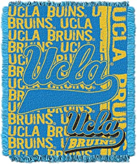 The Northwest Company Officially Licensed NCAA UCLA Bruins Double Play Triple Woven Jacquard Throw Blanket, 48