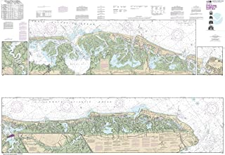 NOAA Chart 12316 Intracoastal Waterway Little Egg Harbor to Cape May;Atlantic City: 40.99