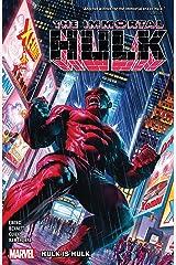 Immortal Hulk Vol. 7: Hulk Is Hulk (Immortal Hulk (2018-)) (English Edition) eBook Kindle