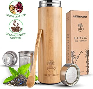 Best bamboo tea thermos Reviews