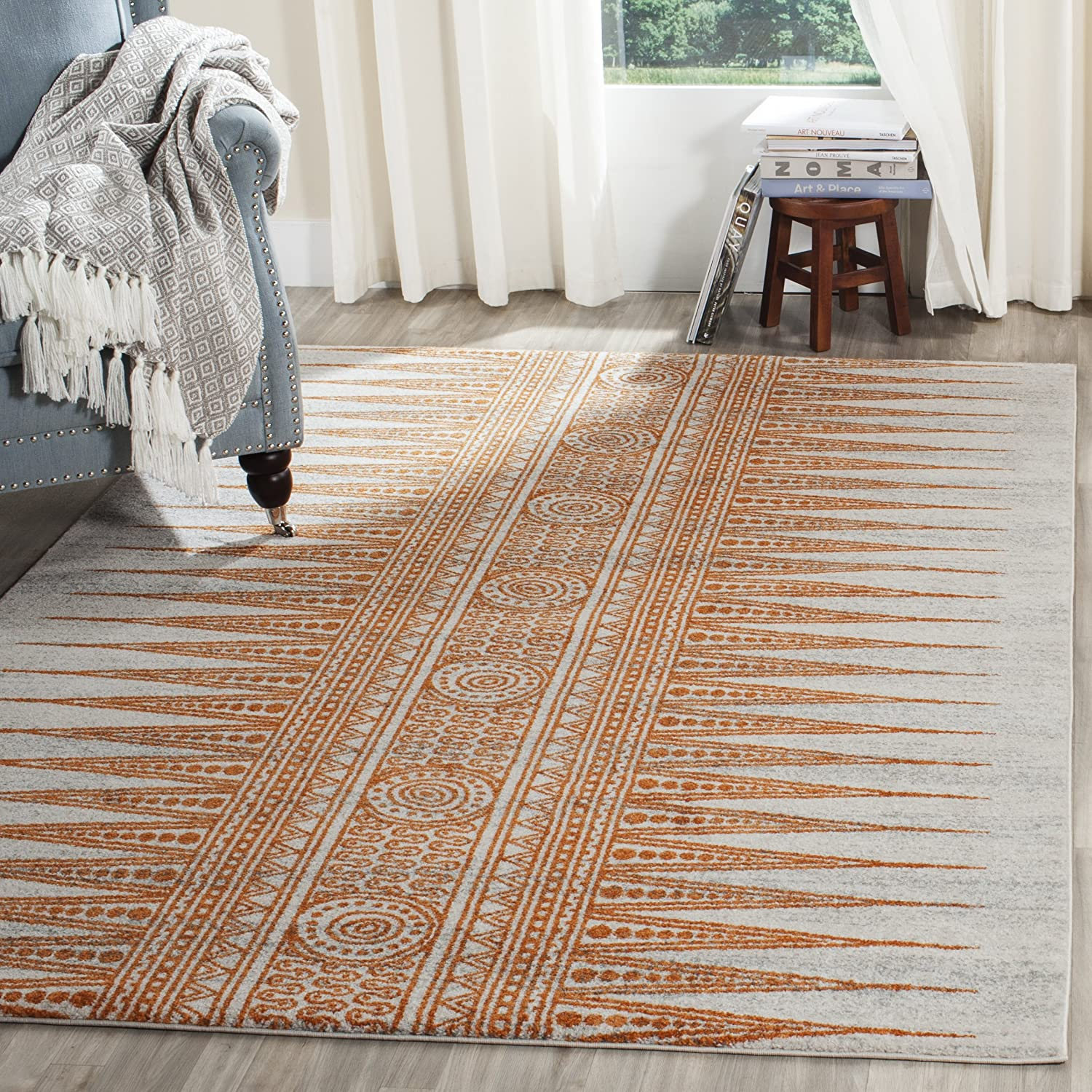 Safavieh Evoke Collection EVK226S Stain Complete Free Shipping Resist Non-Shedding 1 year warranty Boho