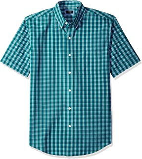 Arrow Men's Big and Tall Hamilton Poplin Short Sleeve...