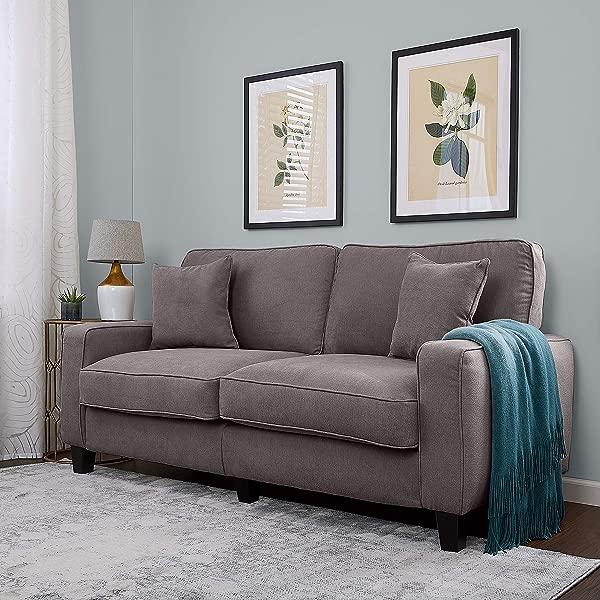 Serta CR45234B Palisades Sofas 73 Gray