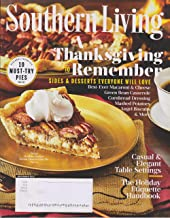 Southern Living November 2017 A Thanksgiving to Remember