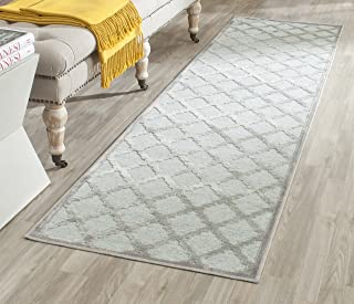 Safavieh Paradise Collection PAR350-2710 Grey and Spruce Viscose Runner (2'2