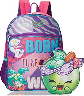 Moose Shopkins Backpack With Shaped Lunch Kit Backpack