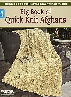 Loisirs Arts Big Livre de Tricot Rapide Afghan