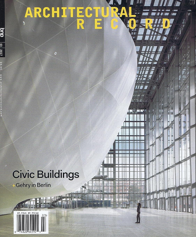 クリケット隠セレナArchitectural Record [US] March 2017 (単号)
