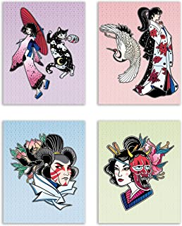 geisha art prints