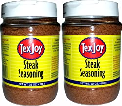 product image for TexJoy Steak Seasoning Original Recipe 32oz 2-Pack (64 Total Ounces, 4 Pounds of Goodness)