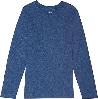 French Toast School Uniform Boys Long Sleeve V-Neck T-Shirt