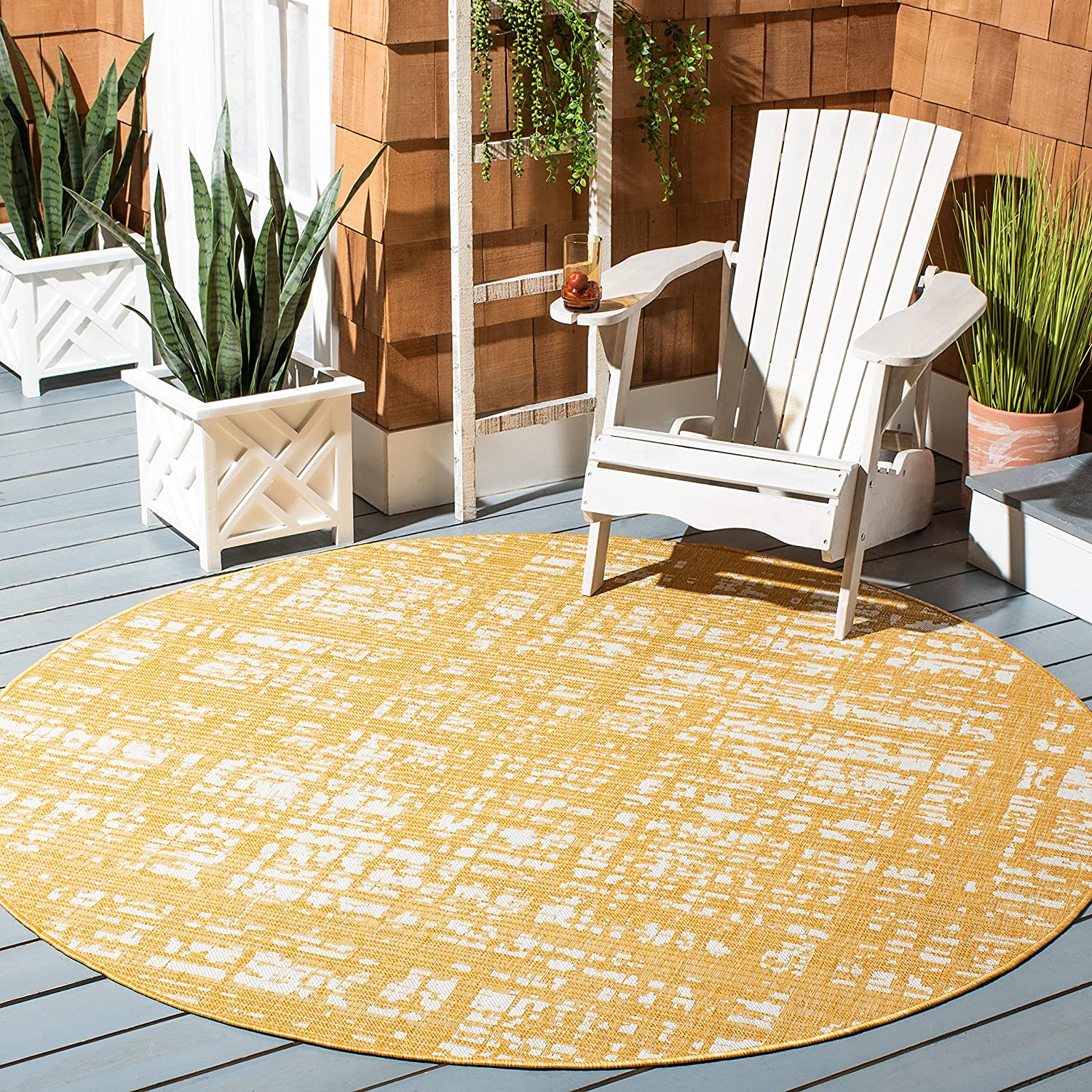 Safavieh Free shipping anywhere in the nation Courtyard Collection CY8451 Non-Sheddin Outdoor Year-end gift Indoor