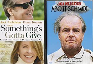 Something's Gotta Give , About Schmidt : Jack Nicholson 2 Pack Collection