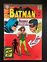 Batman #181 first printing original 1966 DC comic book. 1st Appearance of Poison Ivy