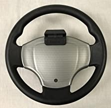 GMT Inc Club Car Precedent Golf Cart Comfort Grip Steering Wheel Scorecard Cover in Turned Titanium (Will ONLY FIT Comfort Grip Steering Wheel)