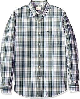 Dockers Long Sleeve Button Front Comfort Flex Shirt Camisa Abotonada para Hombre