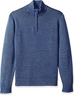 Amazon Brand - Goodthreads Men's Soft Cotton Quarter Zip...
