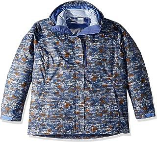 Columbia Women's Whirlibird Iii Plus Size Interchange Jacket, Faded Sky Camo Print, 3X