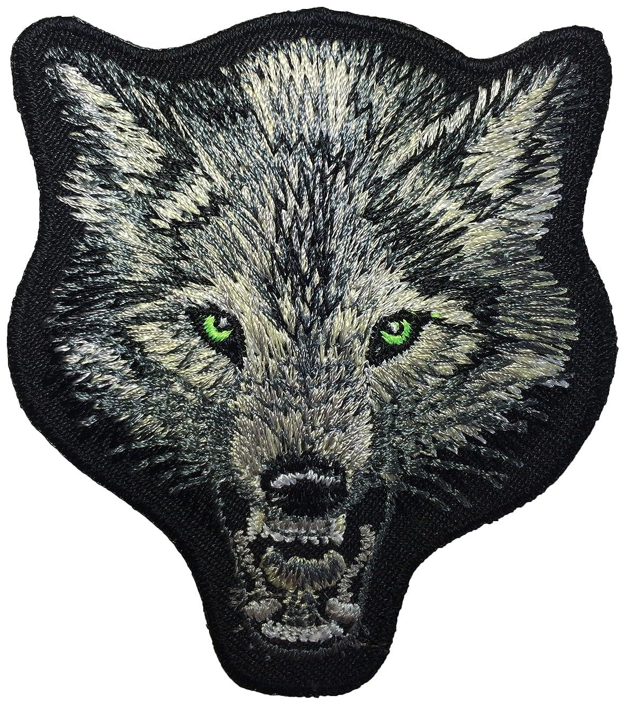 Wolf Head Fox DIY Biker Jacket Vest Applique Embroidered Sew Iron on Emblem Badge Costume Patch By Ranger Return