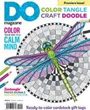 Color, Tangle, Craft, Doodle (#1): DO Magazine, Book Edition (Design Originals) Zentangle(R) Prayer Journals, Ready-to-Color Cardstock Gift Tags
