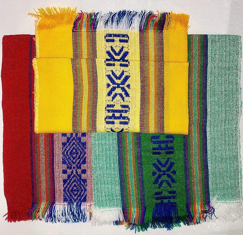 El Cora Productos Mexican Festive Colors Cloth Napkins Servilletas De Colores Festivos De Tela Para Tortillas 6