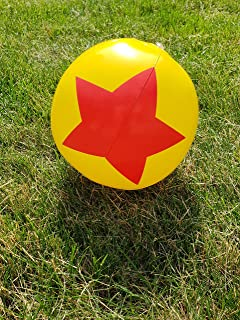 Wonder Women Favor Beach Balls -12 Pack Birthday Party Theme for Kids Adults Gift Girls Boys Superhero Red Star Goodie Bag Filler Summer Pool Inflatable Indoor Outdoor Fun