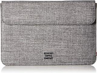 Herschel Supply Co. Unisex-Adults Spokane Sleeve for 12 Inch Macbook, Raven Crosshatch, One Size