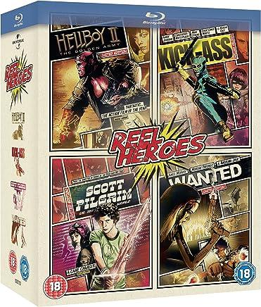 Reel Heroes: (Hellboy 2 / Wanted / Scott Pilgrim / Kick)