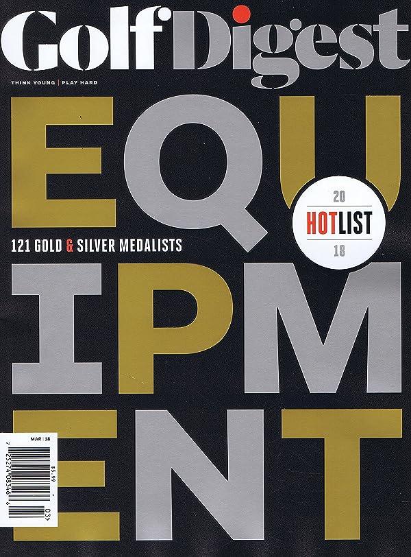 オークションワイヤーコントロールGolf Digest [US] March 2018 (単号)