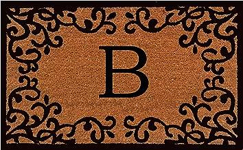Home & More 180022436B Chateaux Monogram Doormat 24