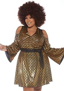 Women's Plus Size 70s Disco Costume