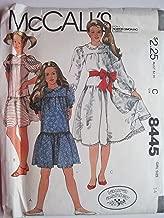 McCall's Pattern 8445 Girls' Dress Size 14